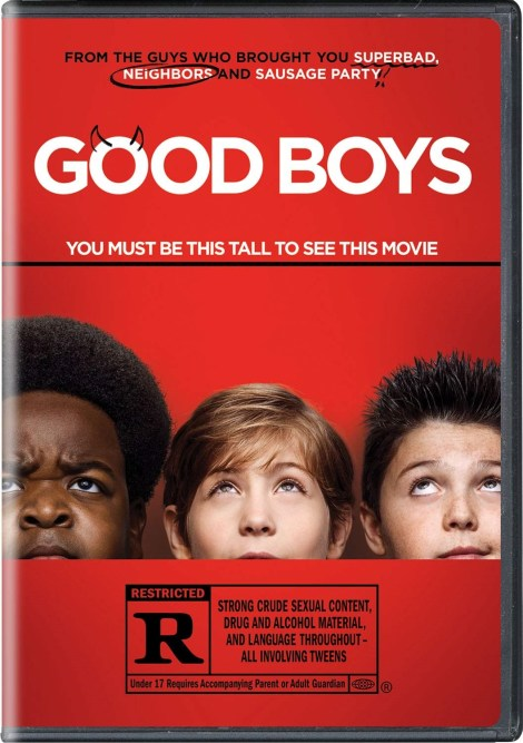 Good Boys; The R-Rated Comedy Arrives On Digital October 29 & On Blu-ray & DVD November 12, 2019 From Universal 6