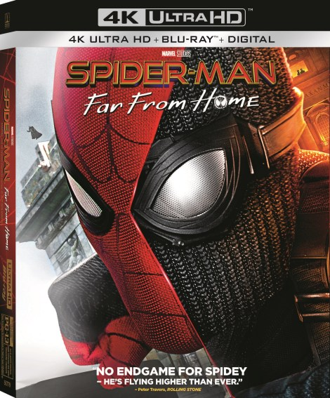 Spider-Man: Far From Home; Arrives On Digital September 17 & On 4K Ultra HD, Blu-ray & DVD October 1, 2019 From Marvel & Sony 4