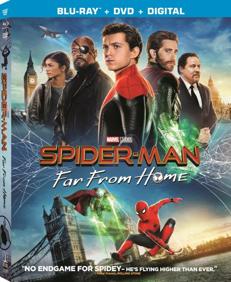 Spider-Man: Far From Home; Arrives On Digital September 17 & On 4K Ultra HD, Blu-ray & DVD October 1, 2019 From Marvel & Sony 5