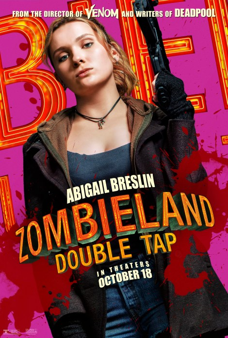 Meet Your Zombie Killers In 8 New 'Zombieland: Double Tap' Character Posters 5
