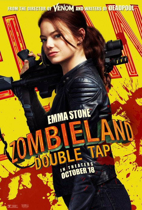 Meet Your Zombie Killers In 8 New 'Zombieland: Double Tap' Character Posters 4