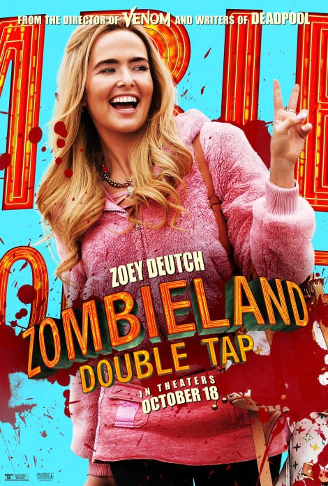 Meet Your Zombie Killers In 8 New 'Zombieland: Double Tap' Character Posters 6