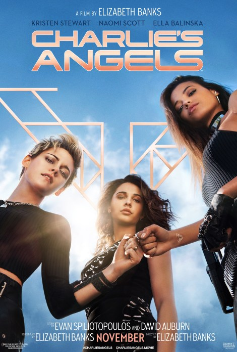 The New Trailer & Poster For Elizabeth Banks' 'Charlie's Angels' Shows Off The New Team In Action 2