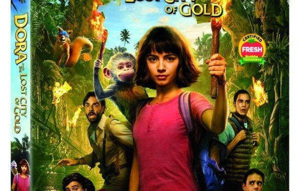 blu-ray cover of Dora and the Lost City Of Gold movie
