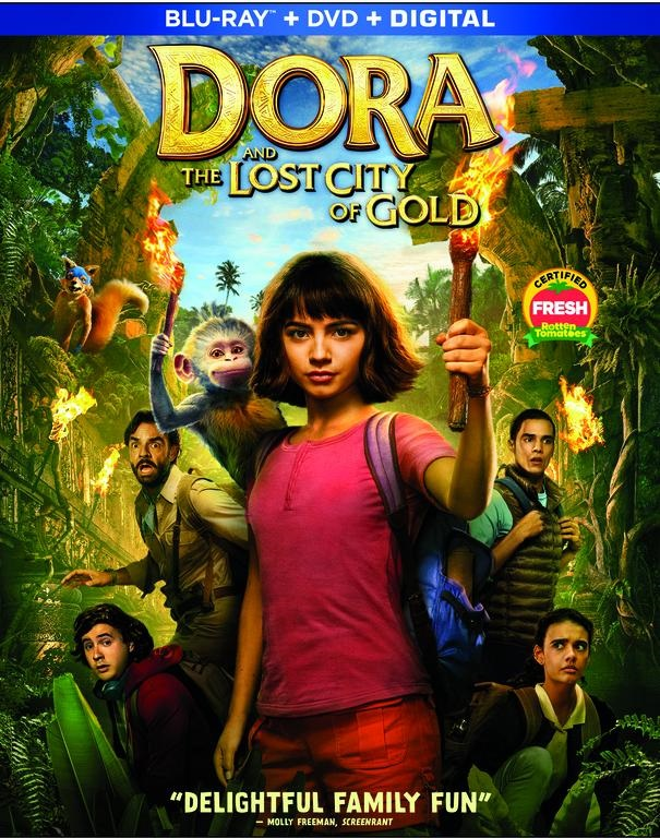 Dora And The Lost City Of Gold; The Family Adventure Arrives On Digital November 5 & On Blu-ray & DVD November 19, 2019 From Paramount 5