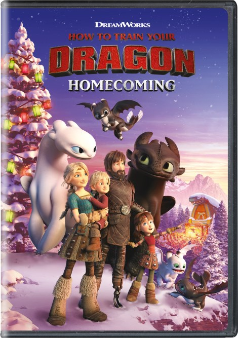How To Train Your Dragon Homecoming; DVD Artwork & Disc Specs; Arriving On DVD & Airing On NBC December 3; On Digital December 4, 2019 From Universal 4