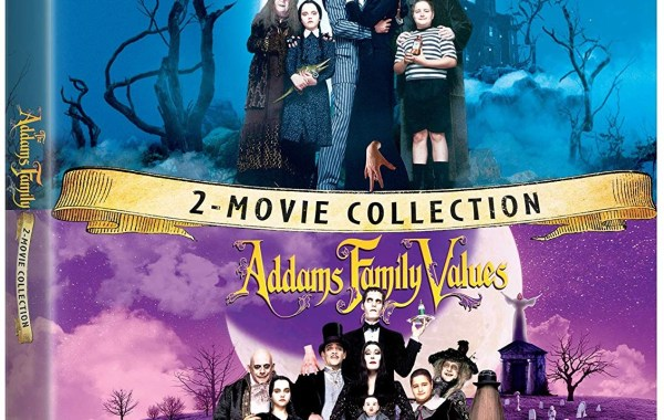 Blu-ray cover o The Addams Family 2 movie collection