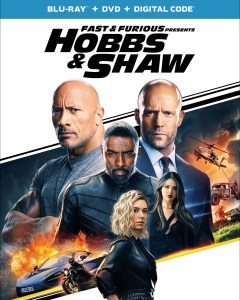 Fast and Furious Presents Hobbs and Shaw Blu ray Cover