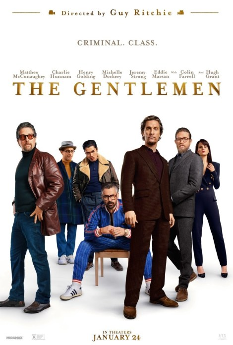 Guy Ritchie's 'The Gentlemen' Shows Off Its Stars With A New Key Poster & 6 Character Posters 2