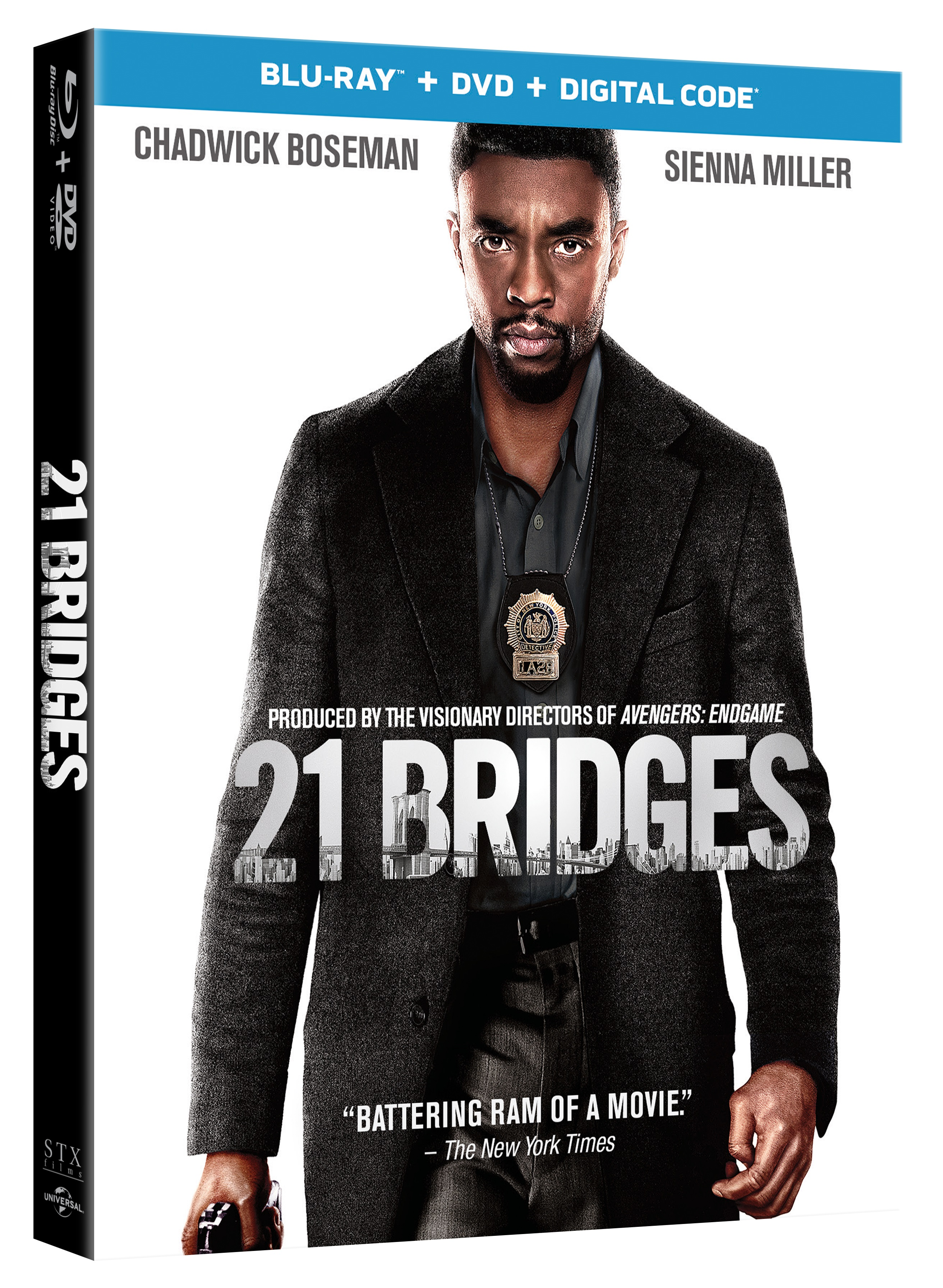 21 Bridges Arrives On Digital February 4 On Blu Ray Dvd February 18 2020 From Universal Screen Connections