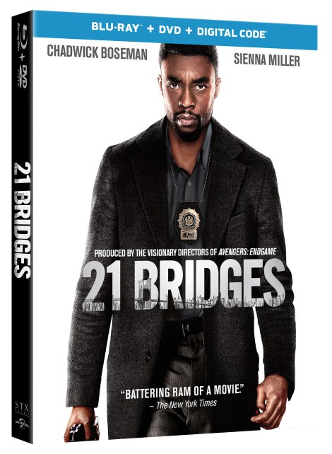 21 Bridges; Arrives On Digital February 4 & On Blu-ray & DVD February 18, 2020 From Universal 3