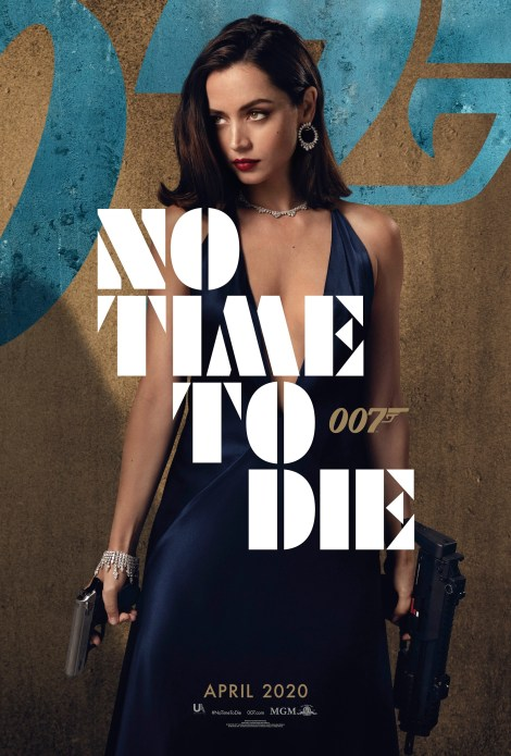 Bond Is Back In The First 'No Time To Die' Trailer & 6 Character Posters 4