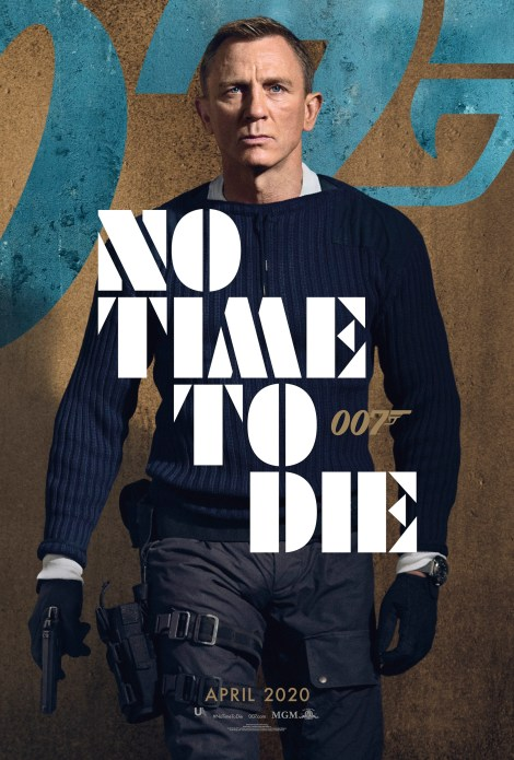 Bond Is Back In The First 'No Time To Die' Trailer & 6 Character Posters 2