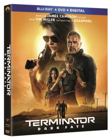 Terminator: Dark Fate; Arrives On Digital January 14 & On 4K Ultra HD, Blu-ray & DVD January 28, 2020 From Paramount 3