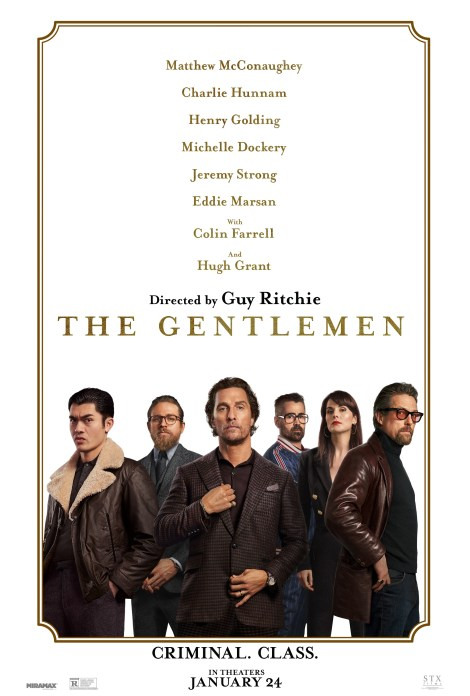 Guy Ritchie's 'The Gentlemen' Gets A New Trailer & 7 New Posters 2