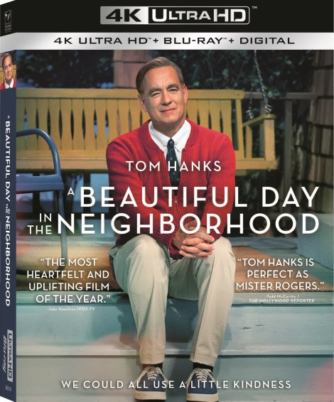 A Beautiful Day In The Neighborhood; Arrives On Digital February 4 & On 4K Ultra HD, Blu-ray & DVD February 18, 2020 From Sony 4
