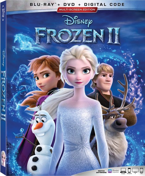 Disney's 'Frozen 2'; Arrives On Digital February 11 & On 4K Ultra HD, Blu-ray & DVD February 25, 2020 From Disney 4