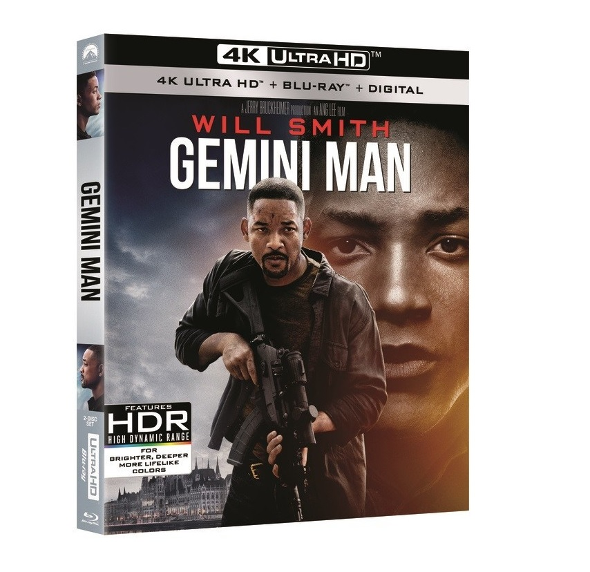 [GIVEAWAY] Win 'Gemini Man' On 4K Ultra HD: Available On 4K Ultra HD, Blu-ray & DVD January 14, 2020 From Paramount 9