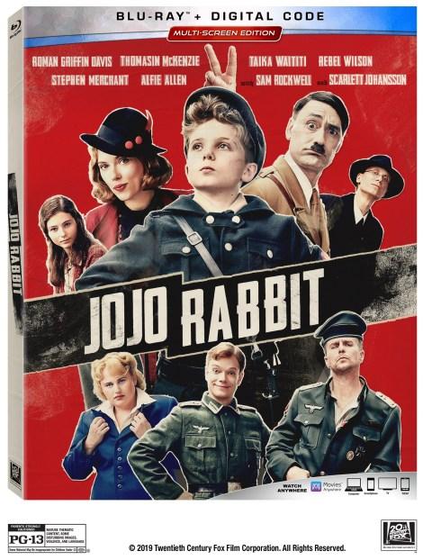 Jojo Rabbit; The Academy Award Nominated Film Arrives On Digital February 4 & On 4K Ultra HD, Blu-ray & DVD February 18, 2020 From Fox 3