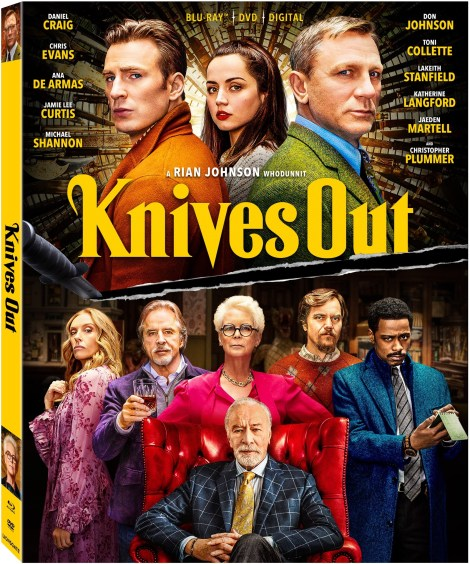 Knives Out; The New Film From Rian Johnson Arrives On Digital February 7 & On 4K Ultra HD, Blu-ray & DVD February 25, 2020 From Lionsgate 11