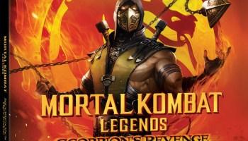 Mortal Kombat Legends Scorpion's Revenge 4K artwork