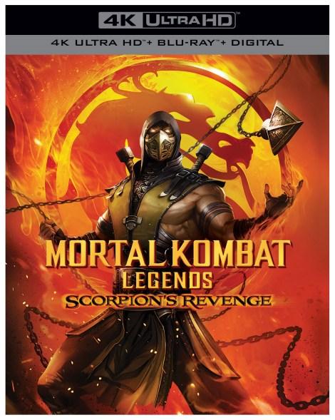 'Mortal Kombat Legends: Scorpion's Revenge' Release Details, Artwork & Trailer; Arrives On Digital April 12 & On 4K Ultra HD, Blu-ray & DVD April 28, 2020 From Warner Bros 1