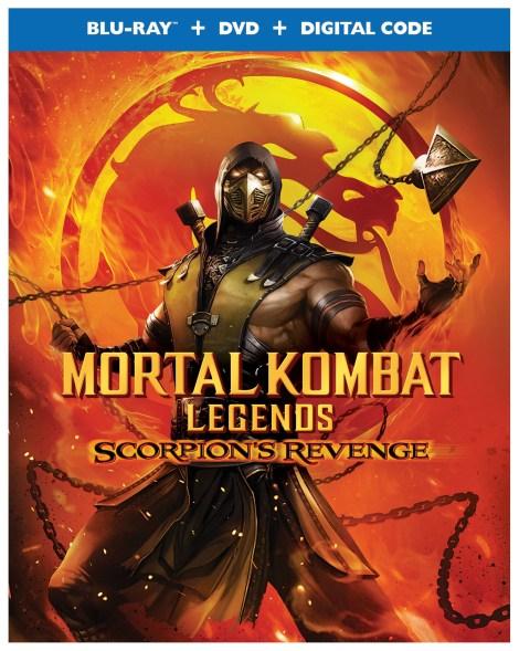 'Mortal Kombat Legends: Scorpion's Revenge' Release Details, Artwork & Trailer; Arrives On Digital April 12 & On 4K Ultra HD, Blu-ray & DVD April 28, 2020 From Warner Bros 2