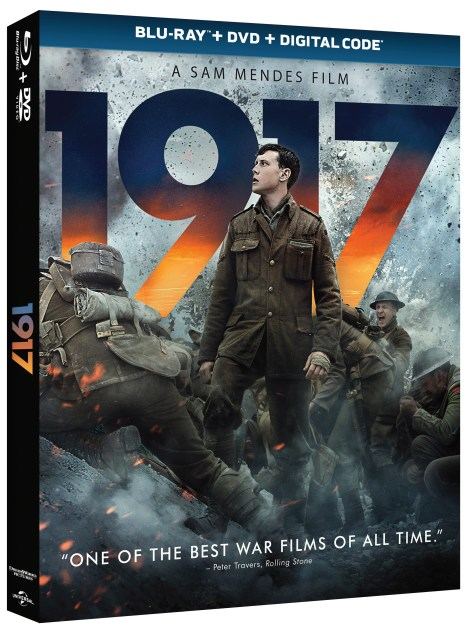 1917; The Sam Mendes Directed War Film Arrives On Digital March 10 & On 4K Ultra HD, Blu-ray & DVD March 24, 2020 From Universal 3