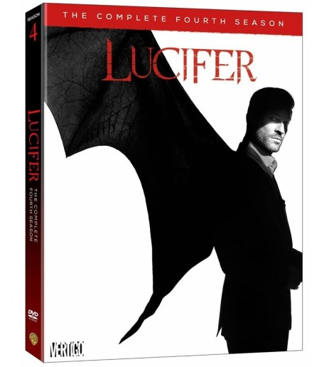 Lucifer Season 4 DVD artwork