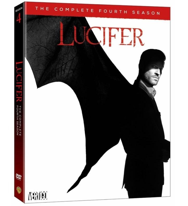 Lucifer Season 4 DVD artwork