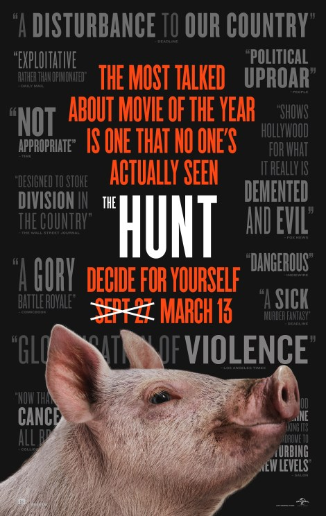 The Controversial Blumhouse Thriller 'The Hunt' Gets A New Release Date, Trailer & Poster 2