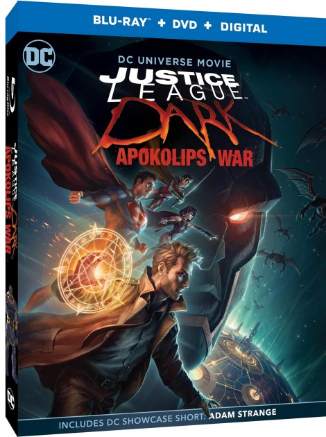 Justice League Dark: Apokolips War; Arrives On Digital May 5 & On 4K Ultra HD, Blu-ray & DVD May 19, 2020 From DC & Warner Bros 1