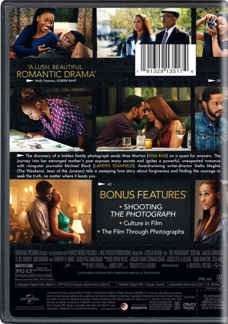 The Photograph; Arrives On Digital April 28 & On Blu-ray & DVD May 12, 2020 From Universal 5