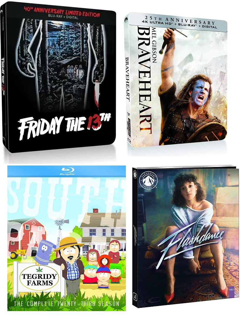 Paramount Home Entertainment Updates: 'Flashdance', 'South Park: Season 23'; New Release Dates For 'Friday The 13th' Steelbook & More 5