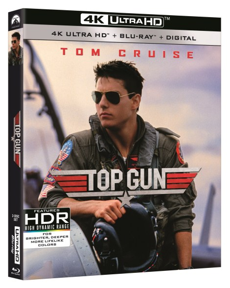 'Top Gun', 'Days Of Thunder' & 'War Of The Worlds'; All 3 Tom Cruise Films Debut On 4K Ultra HD May 19, 2020 From Paramount 2