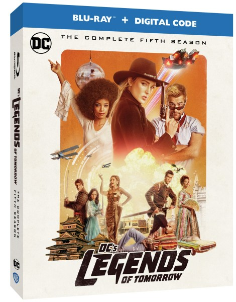 DC's Legends Of Tomorrow: The Complete Fifth Season; Arrives On Blu-ray & DVD September 22, 2020 From DC & Warner Bros 3