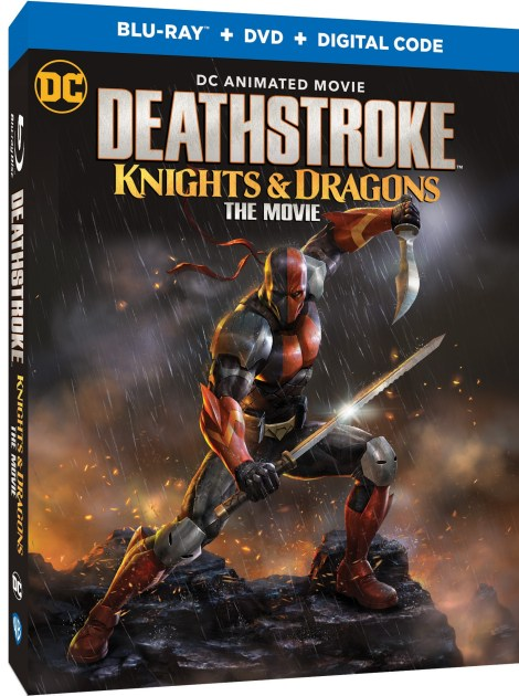 Deathstroke: Knights & Dragons; The Animated Movie Arrives On Digital August 4 & On Blu-ray & DVD August 18, 2020 From DC & Warner Bros 2