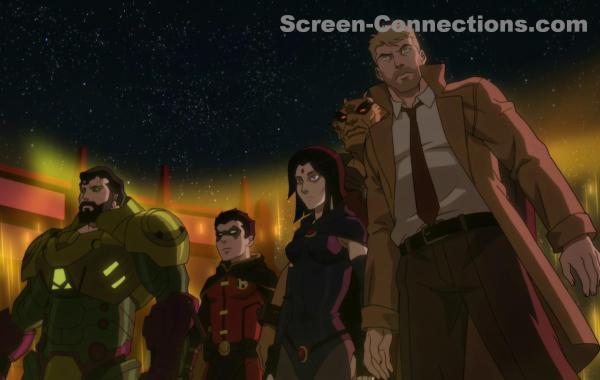 Justice League Dark Apokolips War Blu ray Review image
