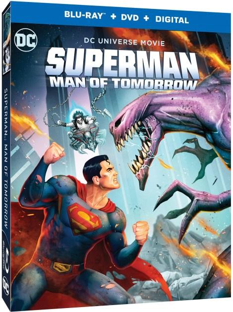 Trailer, Artwork & Release Details For 'Superman: Man Of Tomorrow'; Arrives On Digital August 23 & On 4K Ultra HD, Blu-ray & DVD September 8, 2020 From DC & Warner Bros 1