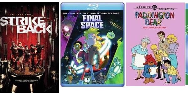 Warner Archive: July & August 2020 TV New Releases: 'Jett: Season 1', 'Paddington Bear: The Complete Series', 'Taz-Mania: Season 3' & More 18