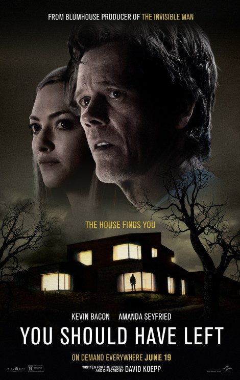 You Should Have Left; Trailer, Poster & VOD Release Date Revealed For The Blumhouse Thriller From David Koepp 2