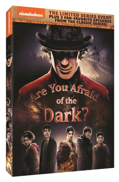 Nickelodeon 2020 Halloween Dvd Are You Afraid Of The Dark? (2019); The Limited Event Series