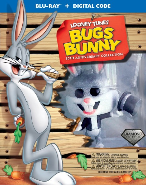 =NEW RELEASE DATE= Bugs Bunny 80th Anniversary Collection; Collector's Blu-ray Gift Set Now Arrives December 1, 2020 From Warner Bros 3
