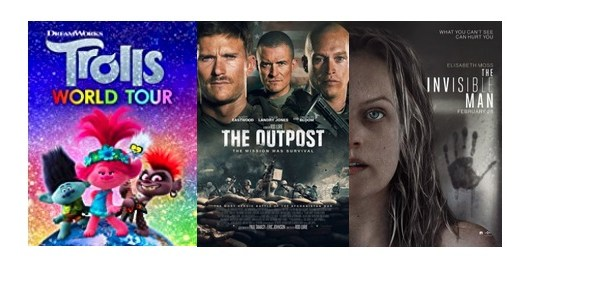 DEG Watched At Home Top 20 List For 07/16/20: Trolls World Tour, The Outpost 13