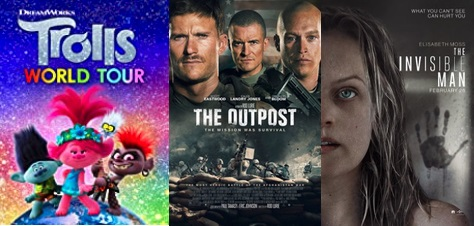 DEG Watched At Home Top 20 List For 07/16/20: Trolls World Tour, The Outpost 5