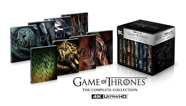Game Of Thrones: The Complete Collection; Coming To 4K Ultra HD On November 3, 2020 From HBO - Warner Bros 9