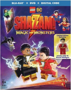 [Blu-Ray Review] LEGO DC: Shazam! Magic And Monsters; Now Available On Blu-ray, DVD & Digital From Lego, DC Comics & Warner Bros 1