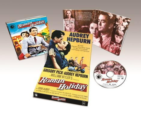 'Roman Holiday' Blu-ray Release Date, Details and Artwork, Paramount Presents image