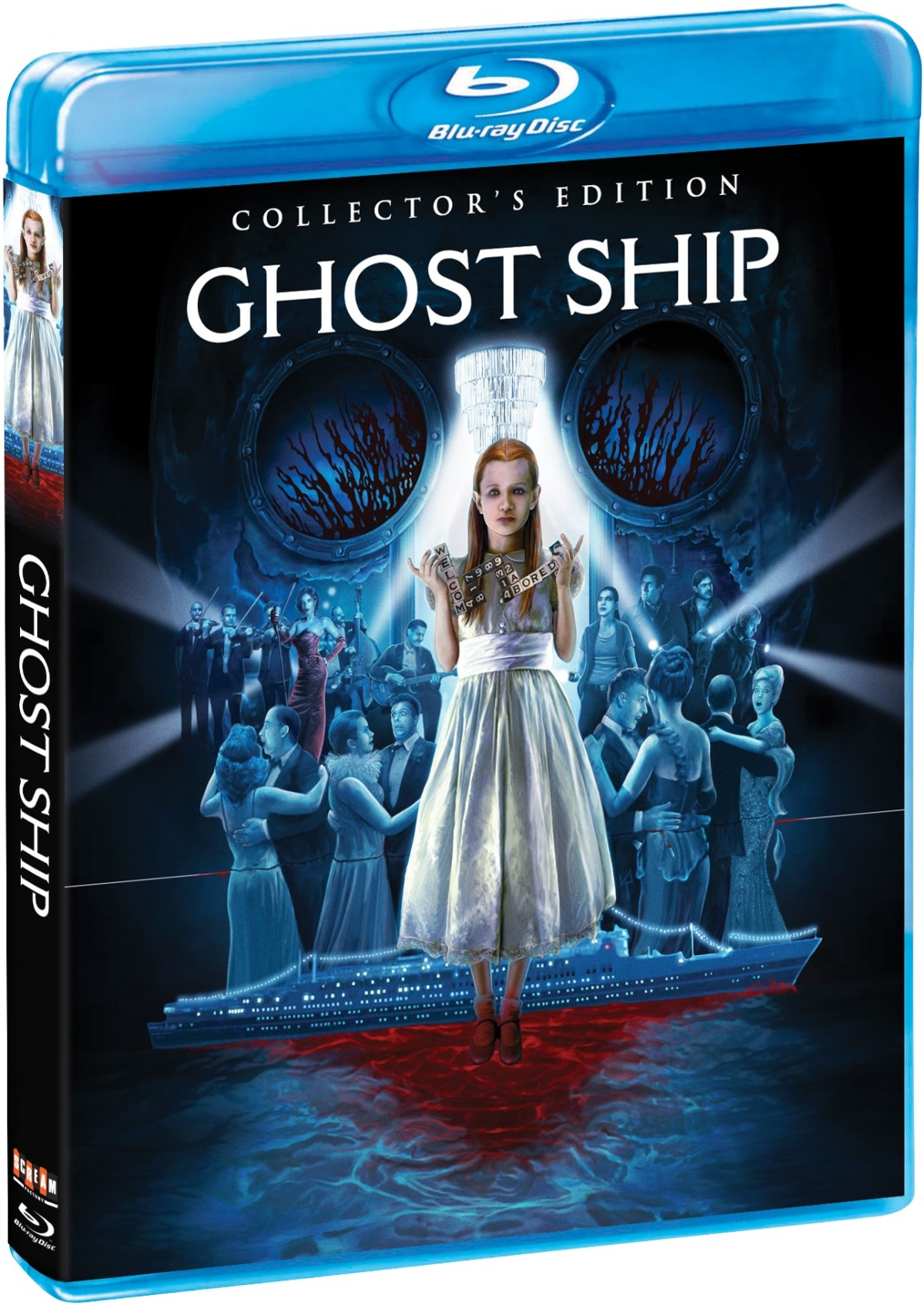 Ghost Ship Collector's Edition Blu ray