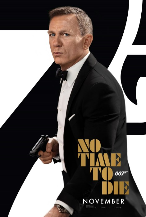 'No Time To Die'; The New Trailer & Poster For The Latest Bond Film Have Arrived 2
